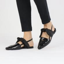 Sandals Joolie 21 Patent Black Nappa