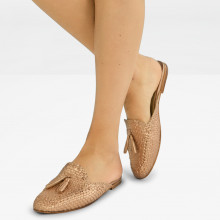 Mules Jackie 1 Woven Rame