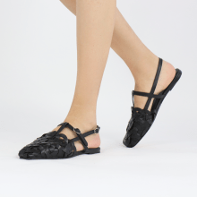 Sandals Melly 11 Nappa Black