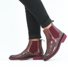 Ankle boots Selina 6 Burgundy Wine