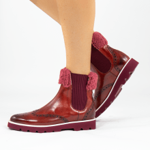 Ankle boots Selina 36 Palermo Rubino Sherling Red