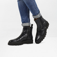 Ankle boots Susan 45 Crock Black Loop