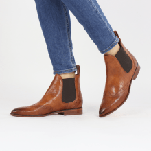 Ankle boots Jessy 4 Imola Perfo Tan