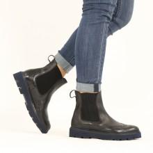 Ankle boots Jade 8 Imola Black Elastic Ribbed