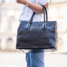 Handbags Kimberly 1 Woven Black