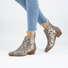 Ankle boots Kylie 1 Snake Black Ivory