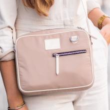 Handbags Quebec Dabra Tex Beige Vegas White