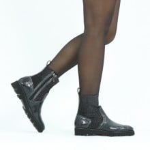 Ankle boots Sally 157 Crock Black Stefy