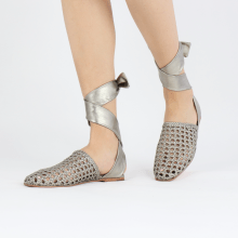 Sandals Melly 8 Mignon Pewter Nappa Talca