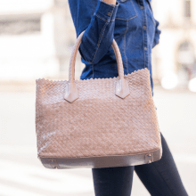 Handbags Kimberly 1 Woven Lavanda