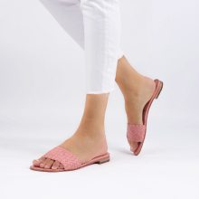 Mules Hanna 26 Woven Rose