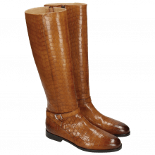 Boots Susan 71 Crock Wood Lining Rich Tan Brown