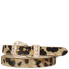 Bracelets Ines 1 Hairon Leo Beige Buckle Rose Gold