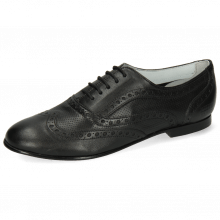 Oxford shoes Sonia 1 Nappa Perfo Black