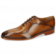 Oxford shoes Lance 64 Tan Washed Shade Dark Brown