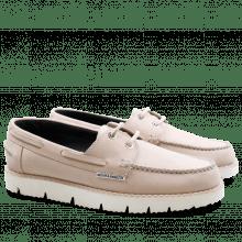 Loafers Ally 1 Nubuk Marsina Goya White