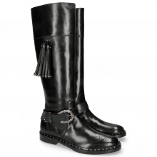 Boots Sally 87 Rio Black Rivets