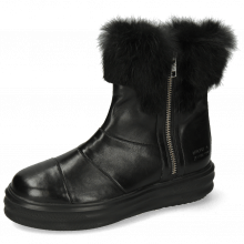 Ankle boots Fay 10 Nappa Glove Black Fur