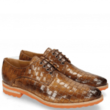 Derby shoes Brad 7 Woven Nougat