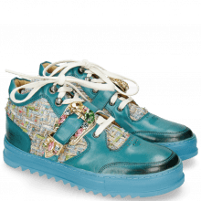 Sneakers Maxima 5 Turquoise Textile Blush Sky Tongue