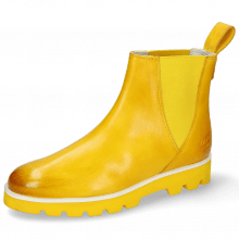 Ankle boots Susan 76 Vegas Sun Elastic Yellow