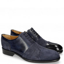 Oxford shoes Patrick 8 Navy Lima