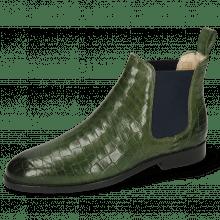 Ankle boots Susan 10 Crock Prato Elastic Navy