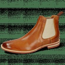 Ankle boots Clint 7 Imola Tan Elastic Lino