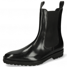 Ankle boots Clark 49 Black Elastic Black Lining Nappa