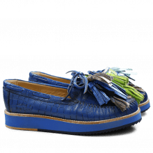 Loafers Bea 4 Blue Tassel Multi