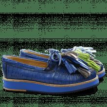 Loafers Bea 4 Blue Tassel Multi
