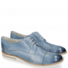 Derby shoes Amelie 2 Vegas Perfo Sky Blue