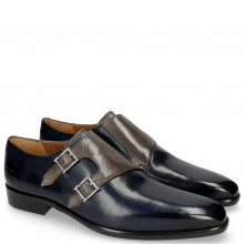 Monks Lance 48 Navy Grigio