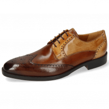 Derby shoes Jeff 14 Mid Brown Wood Tan Sand Nude