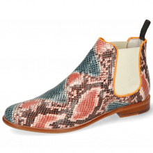Ankle boots Selina 48 Snake King Multi Rust
