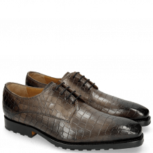 Derby shoes Stanley 2 Crock Grigio St. Moritz