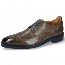 Derby shoes Dave 2 Monza Stone Laces Blue