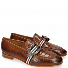 Loafers Scarlett 21 Crock Milano Tan Buckle Phyton