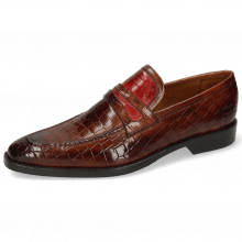 Loafers Leonardo 16 Crock Wood Ruby