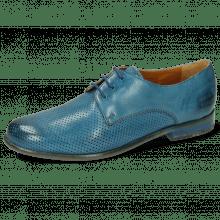Derby shoes Selina 23 Pavia Perfo Bluette