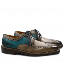 Derby shoes Marvin 1 Smoke Rope Ice Blue