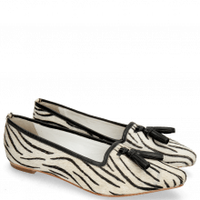 Ballet Pumps Alexa 17 Hairon Young Zebra