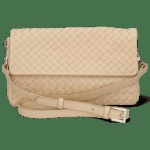 Handbags Kimberly 5 Woven Nappa Off White