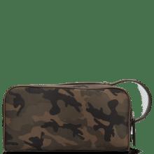 Toiletry bags Palermo Textile Camo Khaki Milled Brown