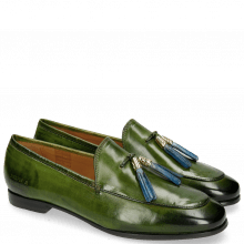 Loafers Scarlett 3 Ultra Green Tassel Shock