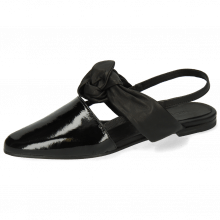 Sandals Joolie 21 Patent Black Nappa