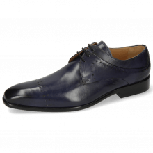 Derby shoes Ethan 14 Marine Lining Rich Tan