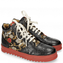 Sneakers Maxima 1 Ostrich Black Brocade