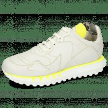 Sneakers Flo 1 Flex White Stitching Yellow