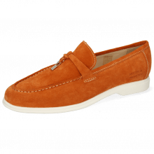 Loafers Earl 3  Suede Pattini Orange